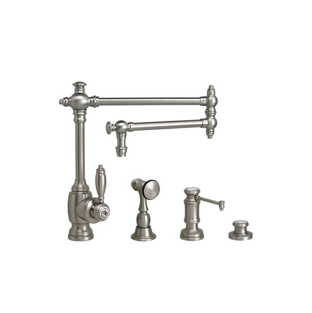 Waterstone Single Hole Kitchen Faucets item 4100-18-3-PN