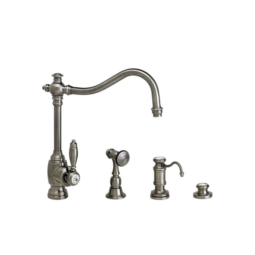 Waterstone Single Hole Kitchen Faucets item 4200-3-AP