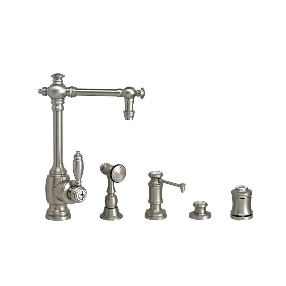 Waterstone Single Hole Kitchen Faucets item 4700-4-PB