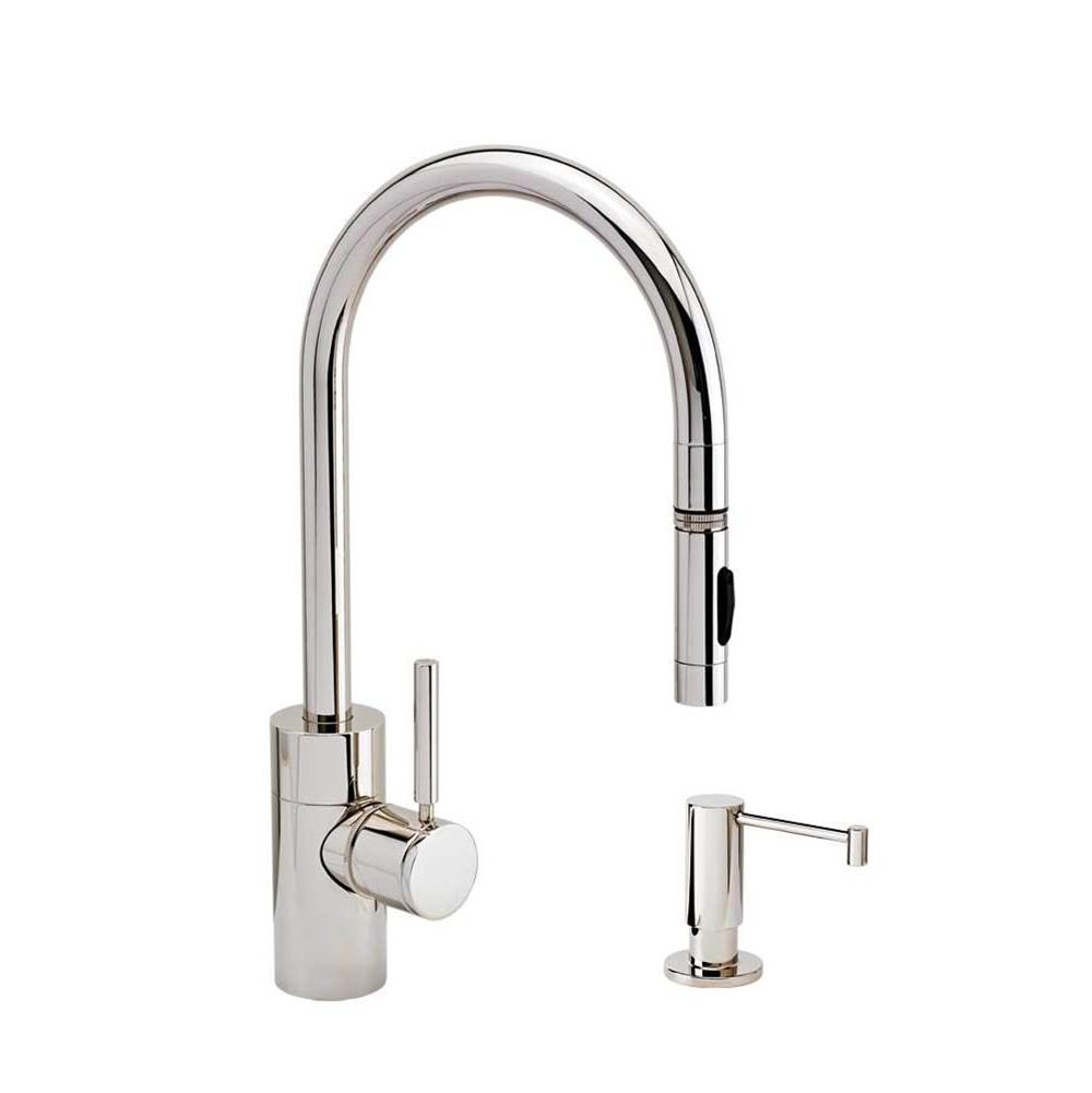 Waterstone Deck Mount Kitchen Faucets item 5400-2-SN