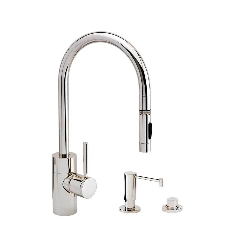 Waterstone Deck Mount Kitchen Faucets item 5400-3-AC