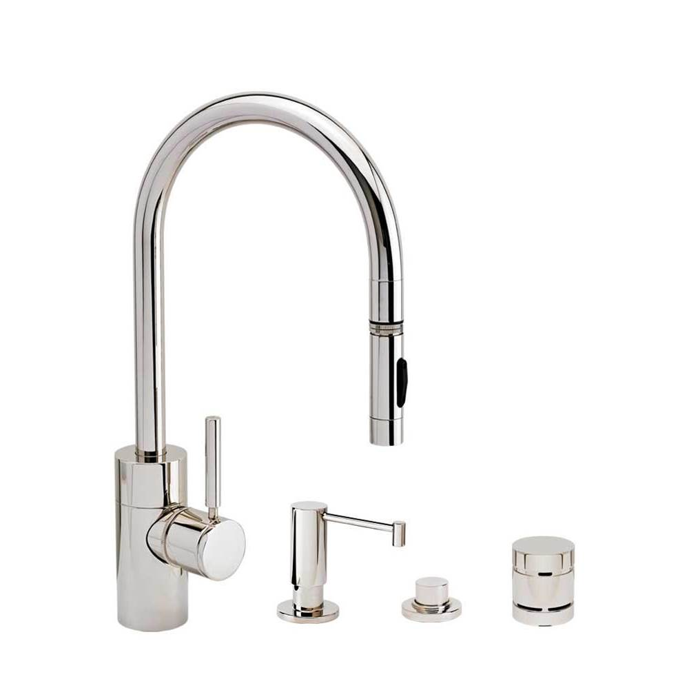Waterstone Deck Mount Kitchen Faucets item 5400-4-WB