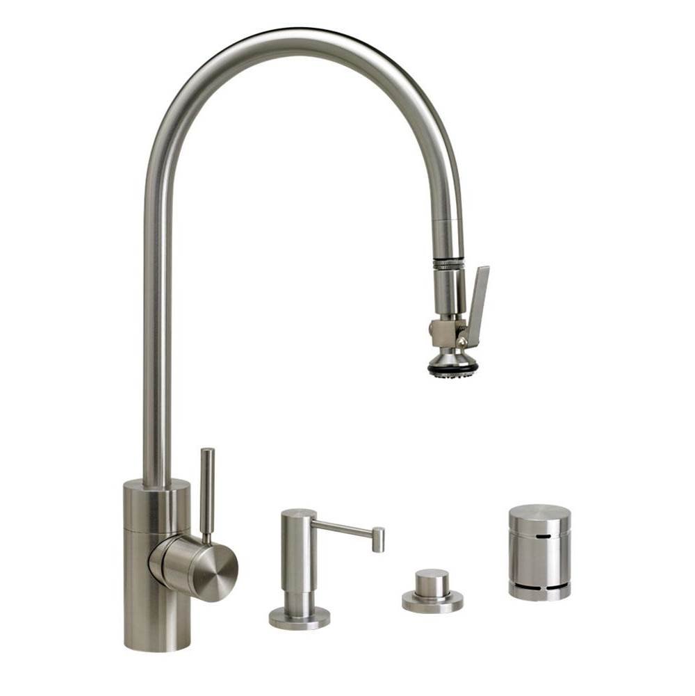 Waterstone Deck Mount Kitchen Faucets item 5700-4-CB