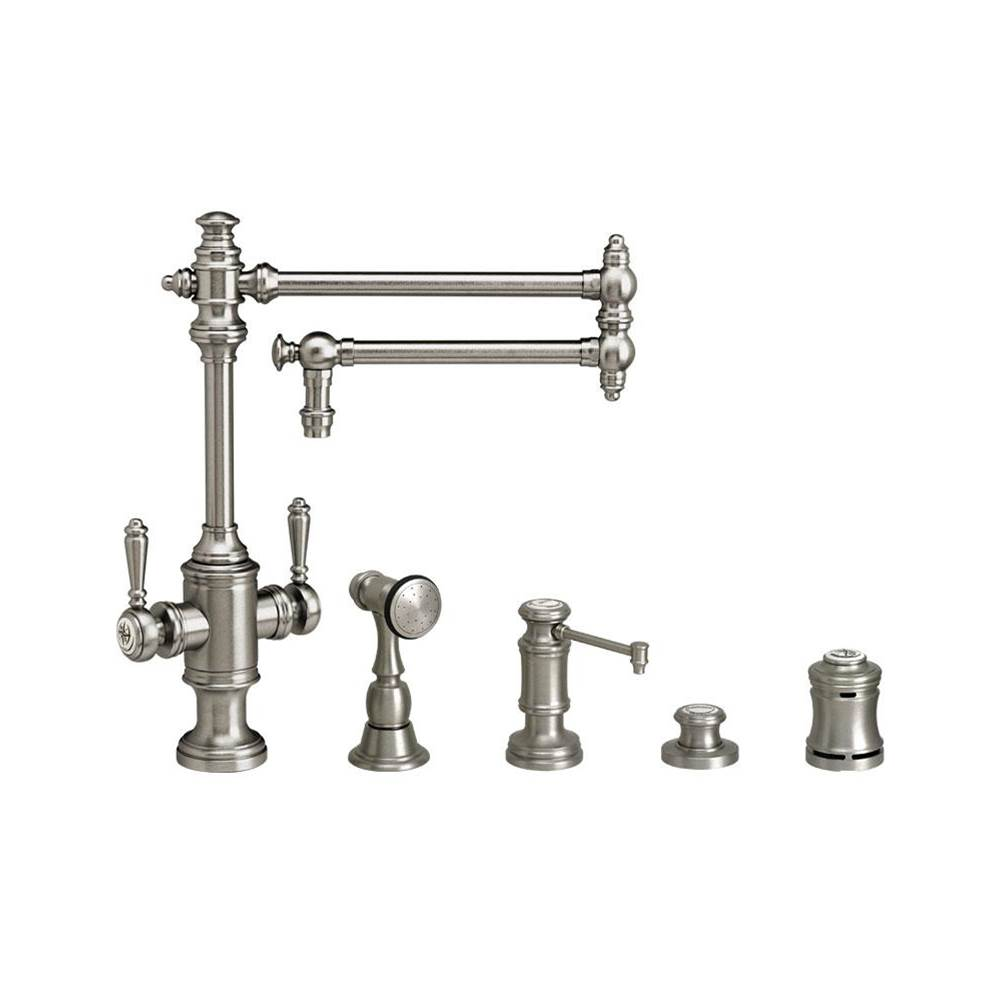 Waterstone Single Hole Kitchen Faucets item 8010-18-4-DAP