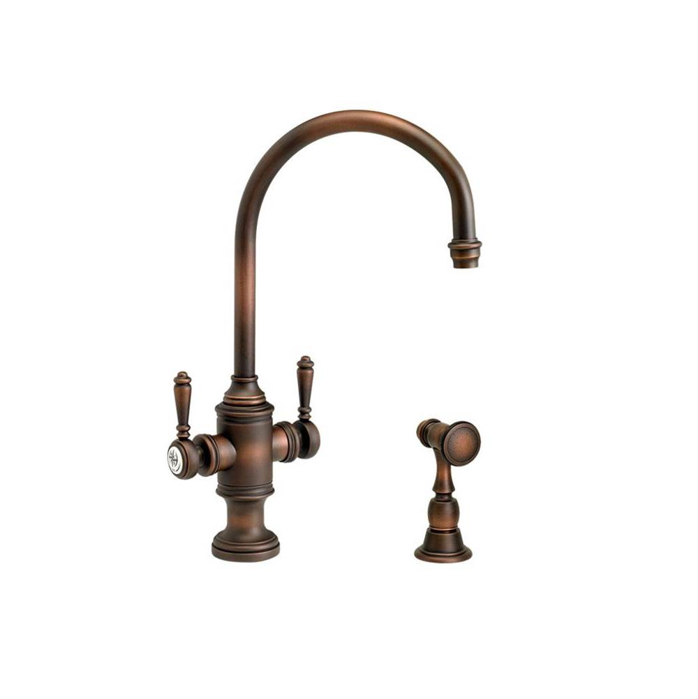 Waterstone Single Hole Kitchen Faucets item 8030-1-SG
